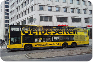 100er Bus in Berlin