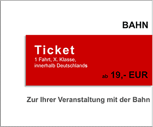 Bahn Ticket nach Berlin