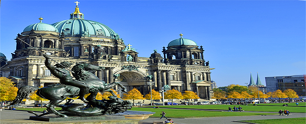 Lustgarten in Berlin