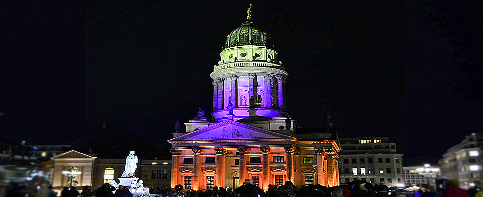 Festival of Lights Berlin am Gendarmenmarkt