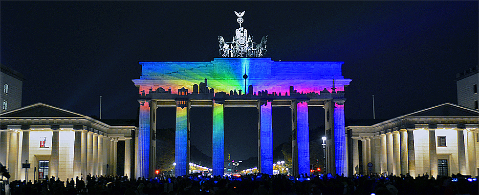 Festival of Lights Berlin am Brandenburger Tor