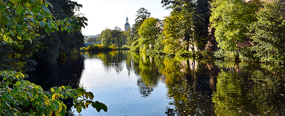 Der Fluss in Berlin