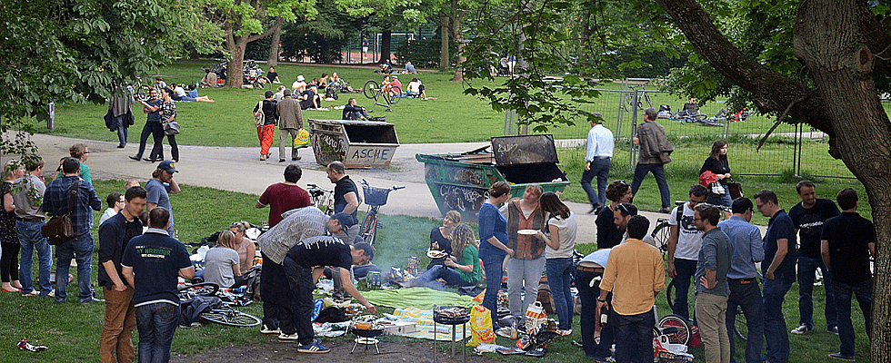 Grillplatz in Berlin