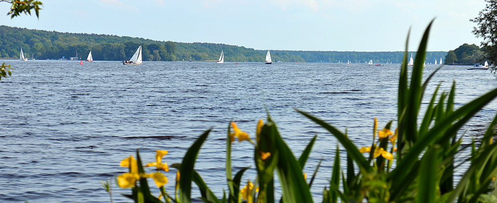 Anlegestelle Wannsee in Berlin