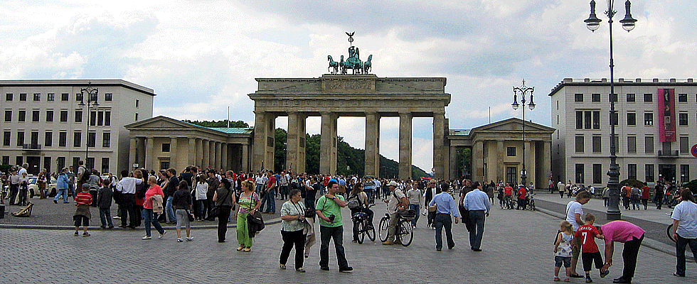 Brandenburger Tor am Pariser Platz