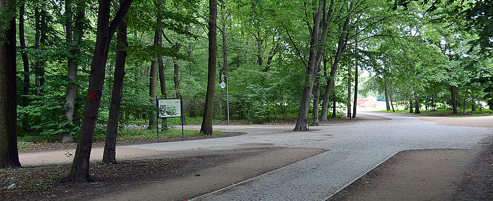 Paul-Ernst-Park in Berlin Zehlendorf