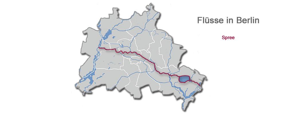 Spree Durch Berlin Fluss Berlinstadtservice